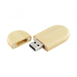 Pendrive 8GB de Bamboo  (Con Logo 1 Color)