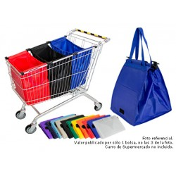 Eco Jumbo-Cart Bag   (Con Logo 1 Color)