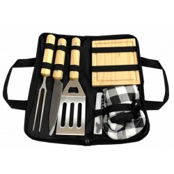 SET BBQ 6 PIEZAS (Con Logo 1 Color)